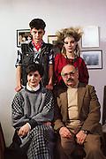 Matxus Osinaga, family.  Madrid, Spain.