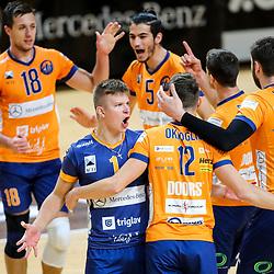 20201017: SLO, Volleyball - Mevza 2020/21, ACH Volley Ljubljana vs Calcit Kamnik