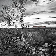 Ayers rock in Australia