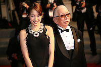 Actress, Rin Takanashi and Actor, Tadashi Okuno at the Like Someone In Love gala screening at the 65th Cannes Film Festival France. Monday 21st May 2012 in Cannes Film Festival, France.