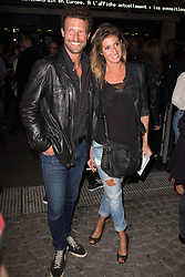 Caroline Ithurbide and Boris Ehrgott arriving at the Etam live show 100years as a part of Paris Fashion Week Ready to Wear Spring/Summer 2017 in Paris, France on September 28, 2016. Photo by ABACAPRESS.COM