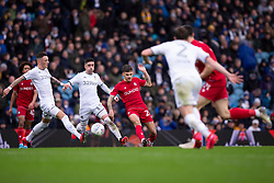 Jamie Paterson of Bristol City passes the ball - Mandatory by-line: Daniel Chesterton/JMP - 15/02/2020 - FOOTBALL - Elland Road - Leeds, England - Leeds United v Bristol City - Sky Bet Championship