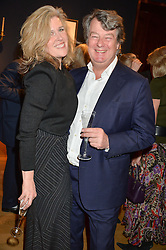 LADY LIBBY MANTON and EDWARD HORSWELL at a party to celebrate the publication of Interiors For Living by Joanna Wood held at Christie's. 8 King Street, St.James's, London on 2nd March 2015.