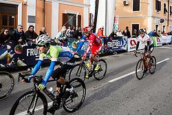LAVRIČ Martin (SLO)  at finish line during the UCI Class 1.2 professional race 4th Grand Prix Izola, on February 26, 2017 in Izola / Isola, Slovenia. Photo by Vid Ponikvar / Sportida