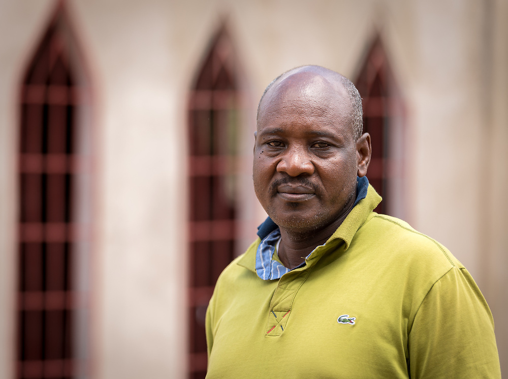 1 June 2019, Garoua, Cameroon: Oumar Daga, from the Church of the Lutheran Brethren of Cameroon, works as project manager, ACT Alliance Appeal, Lake Chad Basin, Cameroon.