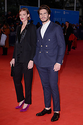 Kate Moran, Francois Civil attending the premiere of The Sisters Brothers during the 44th Deauville American Film Festival in Deauville, France on September 4, 2018. Photo by Julien Reynaud/APS-Medias/ABACAPRESS.COM