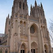Washington National Cathedral West Front Main Entrance