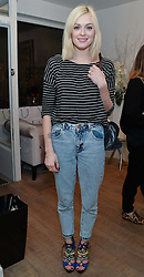 FEARNE COTTON at a Valentine's charity event to raise heart awareness and support the charity Arrhythmia Alliance held at Sophie Gass, 4 Ladbroke Grove, London on 13th February 2014.