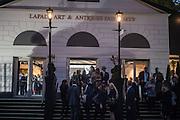 The preview of LAPADA Art and Antiques Fair. Berkeley Sq. London. 21 September 2015.