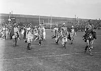 H2487<br /> Opening of Tailteann Games. Picture of various teams parading. 1932  (Part of the Independent Newspapers Ireland/NLI Collection)