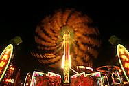 The Yango Tango ride spins at the Orange County Fair Thursday July 13, 2006.