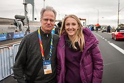 Paula Radcliffe and Toni Reavis