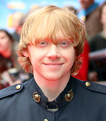 © Licensed to London News Pictures. 11/05/2014, UK. Rupert Grint, Postman Pat: The Movie - World Film Premiere, Odeon West End Leicester Square, London UK, 11 May 2014,. Photo credit : Richard Goldschmidt/Piqtured/LNP