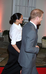 The Duke and Duchess of Sussex arrive at the annual Endeavour Fund Awards at Drapers' Hall, London, to celebrate the achievements of wounded, injured and sick servicemen and women who have taken part in remarkable sporting and adventure challenges over the last year.