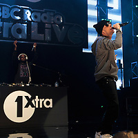 Dappy performing on the opening night of the BBC 1Xtra Live tour at Manchester's O2 Apollo, 2011-11-28