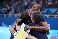 20150619 AZE: 1ste European Games Baku Servie - Nederland, Bakoe<br /> Nederland verslaat Servie met 3-2 / Coach Giovanni Guidetti, Staf