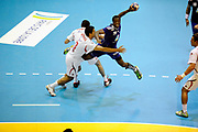 DESCRIZIONE : France Hand Equipe de France Homme Match Amical Nantes<br /> GIOCATORE : ABALO Luc<br /> SQUADRA : France<br /> EVENTO : FRANCE Equipe de France Homme Match Amical  2010-2011<br /> GARA : France Tunisie<br /> DATA : 30/10/2010<br /> CATEGORIA : Hand Equipe de France Homme <br /> SPORT : Handball<br /> AUTORE : JF Molliere par Agenzia Ciamillo-Castoria <br /> Galleria : France Hand 2010-2011 Action<br /> Fotonotizia : FRANCE Hand Hand Equipe de France Homme Match Amical Nantes<br /> Predefinita :
