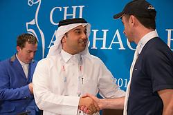 Al Mannai Omar (QAT) Event director, Lynch Dennis (IRL) <br /> CHI Al Shaqab - Doha 2013<br /> © Dirk Caremans
