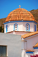 Nunnery of Ayia Aikaterini, Aegina, Greek Saronic Islands .<br /> <br /> If you prefer to buy from our ALAMY PHOTO LIBRARY  Collection visit : https://www.alamy.com/portfolio/paul-williams-funkystock/aegina-greece.html <br /> <br /> Visit our GREECE PHOTO COLLECTIONS for more photos to download or buy as wall art prints https://funkystock.photoshelter.com/gallery-collection/Pictures-Images-of-Greece-Photos-of-Greek-Historic-Landmark-Sites/C0000w6e8OkknEb8