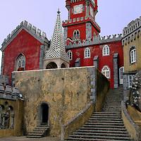 Europe, Portugal, Sintra. Pena National Palace.
