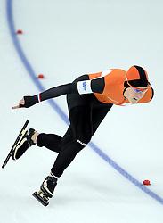 13-02-2014 SCHAATSEN: OLYMPIC GAMES: SOTSJI<br /> Zilver voor Ireen Wust op de 1000 meter<br /> ©2014-FotoHoogendoorn.nl