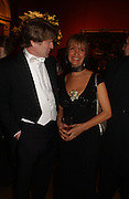Mark Getty, Sabrina Guinness.  Belle Epoche gala fundraising dinner. National Gallery. 16 March 2006. ONE TIME USE ONLY - DO NOT ARCHIVE  © Copyright Photograph by Dafydd Jones 66 Stockwell Park Rd. London SW9 0DA Tel 020 7733 0108 www.dafjones.com