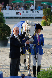 Melchior Judy Ann (BEL), Melchior Leon (BEL)<br /> Final 7 years old horses<br /> World Championship Young Horses Lanaken 2009<br /> © Hippo Foto - Dirk Caremans