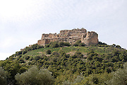Israel, Golan Heights, remains of the Nimrod Fortress
