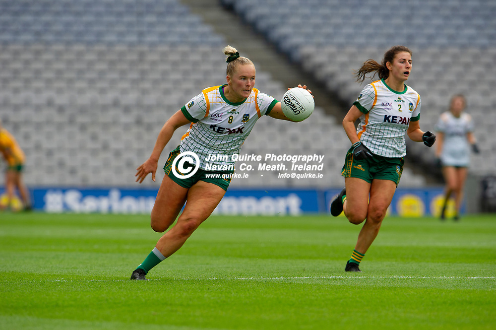 26-06-21. Meath v Kerry - Lidl Ladies National Football League Division 2 Final at Croke Park.<br /> Vikki Wall,surging forward.<br /> Photo: John Quirke / www.quirke.ie<br /> ©John Quirke Photography, 16 Proudstown Road, Navan. Co. Meath. (info@quirke.ie / 046-9028461 / 087-2579454).