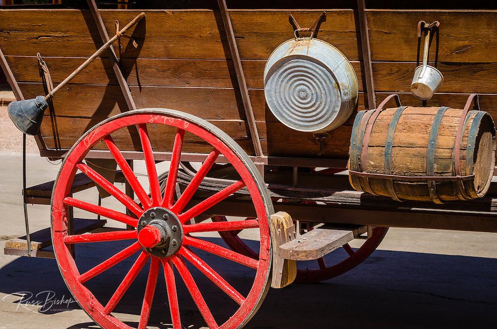 Wagon detail, Tombstone, Arizona USA