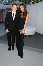 VICTORIA BECKHAM and her son BROOKLYN BECKHAM at the Glamour Women of the Year Awards in association with Pandora held in Berkeley Square Gardens, London on 4th June 2013.