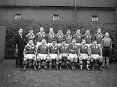1953 Ireland vs England Five Nations Brochure