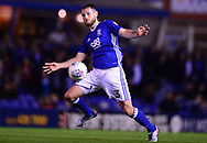 Jonathan Grounds of Birmingham city in action .EFL Skybet championship match, Birmingham city v Cardiff city at St.Andrew's stadium in Birmingham, the Midlands on Friday 13th October 2017.<br /> pic by Bradley Collyer, Andrew Orchard sports photography.
