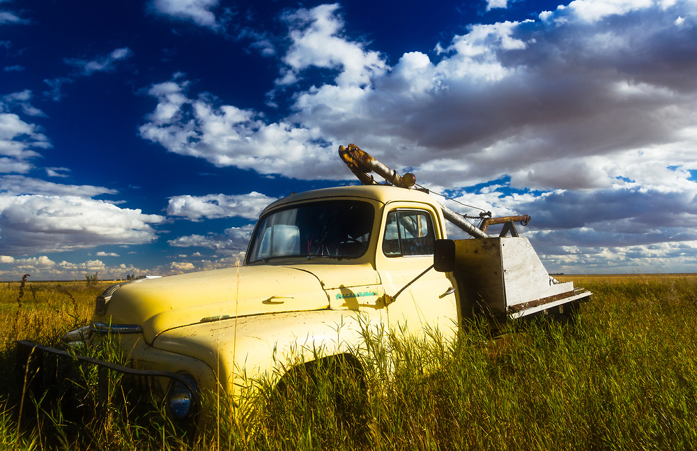 Yellow Truck, Sovereign, Saskatchewan