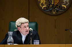 Judge sitting in the Liverpool Crown Court