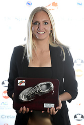 October 20, 2018 - Saint Trond, France - Hanne Claes Spike Silver Argent Zilver pictured during the ceremony of the Golden Spike Athletics Awards 2018 on October 20, 2018 in Sint-Truiden, Belgium, 20/10/2018 (Credit Image: © Panoramic via ZUMA Press)