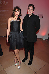 CAROLINE SIEBER and RICHARD DENNEN at the opening party for 'Face of Fashion' an exhibition of photographs by five of the World's leading fashion photographers held at the National Portrait Gallery, St.Martin's Lane, London on 12th February 2007.<br /><br />NON EXCLUSIVE - WORLD RIGHTS