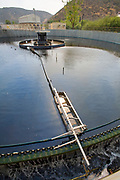 Secondary Clarifier, Hill Canyon Wastewater Treatment Plant, Camarillo, Ventura County, California, USA