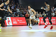Basketball: 1. Bundesliga, Hamburg Towers - Hakro Merlins Crailsheim 91:92, Hamburg, 29.02.2020<br /> <br /> © Torsten Helmke