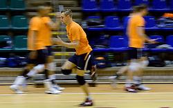 25-04-2013 VOLLEYBAL: TRAINING NEDERLANDS MANNEN VOLLEYBALTEAM: ROTTERDAM<br /> Selectie Oranje mannen seizoen 2013-2014 / Robin Overbeeke<br /> ©2013-FotoHoogendoorn.nl