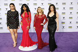 HOLLYWOOD, CA - OCTOBER 26: Fifth Harmony attends the Telemundo's Latin American Music Awards 2017 held at Dolby Theatre on October 26, 2017. Byline, credit, TV usage, web usage or linkback must read SILVEXPHOTO.COM. Failure to byline correctly will incur double the agreed fee. Tel: +1 714 504 6870.