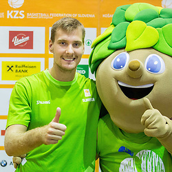 20150725: SLO Basketball - Media day of Slovenian National Basketball Team in Kranj