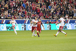 October 30, 2017 - Harrison, New Jersey, United States - Sebastian Giovinco (10) of Toronto FC controls ball during MLS Cup first leg game against Red Bulls at Red Bull Arena Toronto won 2 - 1  (Credit Image: © Lev Radin/Pacific Press via ZUMA Wire)