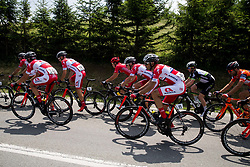 Jure Golcer (SLO) of KK Adria Mobil, Dusan Rajovic (SRB) of KK Adria Mobil, Gorazd Per (SLO) of KK Adria Mobil, Gregor Gazvoda (SLO) of KK Adria Mobil during Stage 1 of 24th Tour of Slovenia 2017 / Tour de Slovenie from Koper to Kocevje (159,4 km) cycling race on June 15, 2017 in Slovenia. Photo by Vid Ponikvar / Sportida