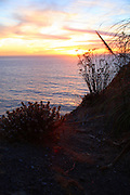 Central California Coast at Sunset