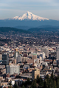 View of Mt. Hood from Pittock Mansion