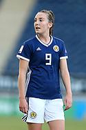 Caroline Weir (#9) of Scotland during the FIFA Women's World Cup UEFA Qualifier match between Scotland Women and Belarus Women at Falkirk Stadium, Falkirk, Scotland on 7 June 2018. Picture by Craig Doyle.