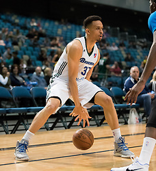 March 20, 2017 - Reno, Nevada, U.S - Reno Bighorn Guard REGGIE HEARN (37) works in the corner during the NBA D-League Basketball game between the Reno Bighorns and the Texas Legends at the Reno Events Center in Reno, Nevada. (Credit Image: © Jeff Mulvihill via ZUMA Wire)