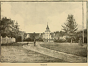 Frogner, Oslo, Norway  From the book ' The viking Bodleys; an excursion into Norway and Denmark ' by Horace Elisha Scudder Published in Boston, by Houghton, Mifflin and Company in 1885 from the BODLEY FAMILY series of books
