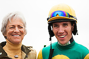 Colonial Cup - Camden, South Carolina. Sue Sensor and Willie Mccarthy.